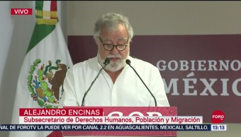 FOTO: Alejandro Encinas anuncia liberación de presuntos implicados en caos Ayotzinapa, 15 Septiembre 2019