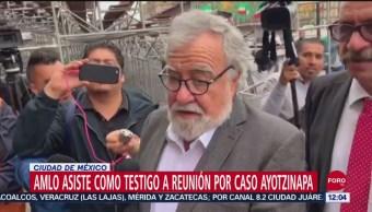 Alejandro Encinas considera productiva su reunión con padres de normalistas desaparecidos