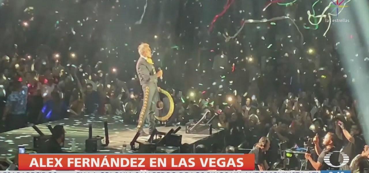 FOTO: Alejandro Fernández se presenta con éxito en Las Vegas, 16 septiembre 2019