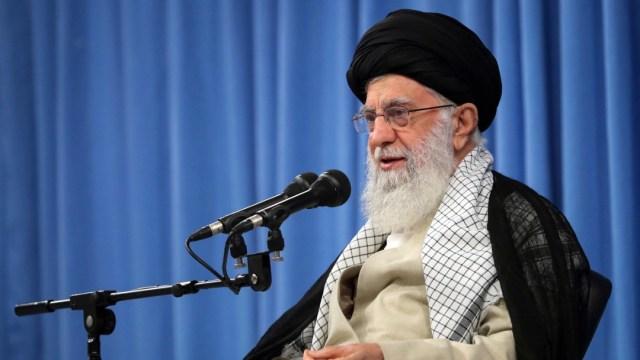 Foto: El líder supremo de Irán, el ayatola Ali Jameneí, 17 de septiembre