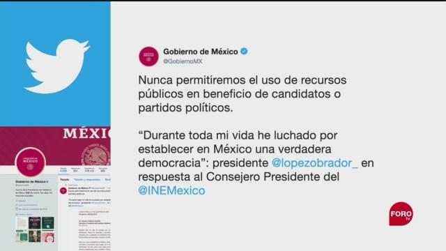 Foto: Amlo Publica Carta Dirigida Lorenzo Córdova 27 Septiembre 2019