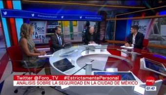 Análisis sobre la seguridad en la Ciudad de México