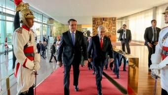 Foto: Bolsonaro se someterá a una nueva cirugía, 1 de septiembre de 2019 (AP, archivo)