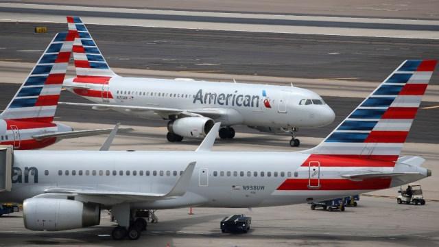 Foto: El avión afectado por la maniobra de Alani fue puesto fuera de servicio y sometido a una estricta revisión antes de volver a la actividad, 18 de septiembre de 2019 (AP, archivo)