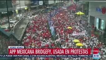 Foto: Aplicación Creada Mexicanos Hong Kong Organizarse 12 Septiembre 2019