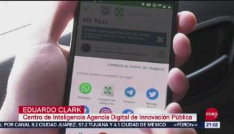 FOTO: Aplicación 'Mi Taxi' busca combatir robo en CDMX, 17 septiembre 2019