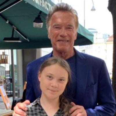 Schwarzenegger ofrece su carro eléctrico a Greta Thunberg