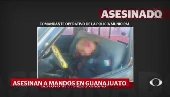 Foto: Asesinan Comandante Policía Celaya 23 Septiembre 2019