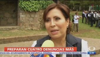 ASF alista cuatro denuncias más en contra de Rosario Robles
