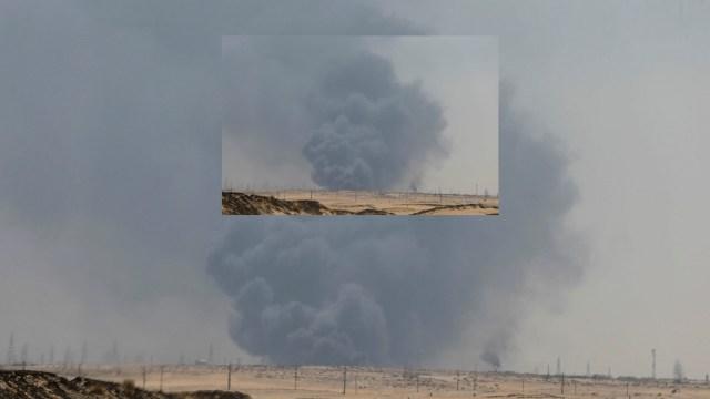Foto: Ataque contra instalación petrolera saudita, 14 de septiembre de 2019, Arabia Saudita