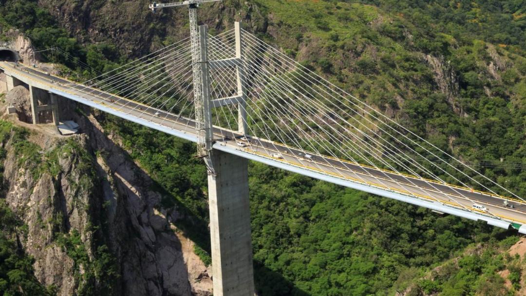 FOTO Autopista Durango-Mazatlán cierra por mantenimiento (SCT, archivo)