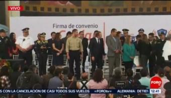 Autoridades de Benito Juárez, CDMX, prometen mejorar salarios de policías