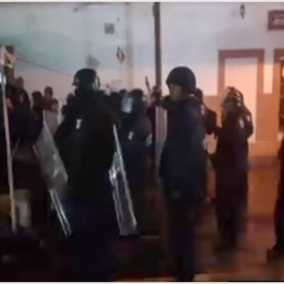 Intento de desalojo en Alcaldía termina en balacera en San Luis Potosí