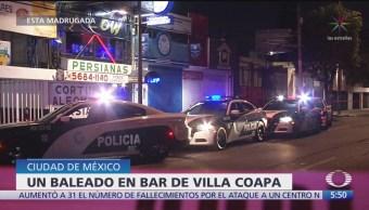 Balaceras en Valle de México dejan 2 muertos