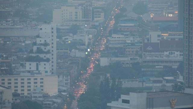 Alerta en Bangkok por altos índices de contaminación