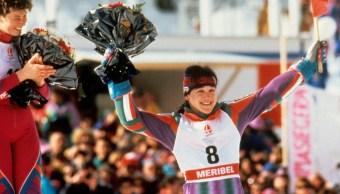 fOTO: Blanca Fernández Ochoa, 20 de febrero de 1992, Francia