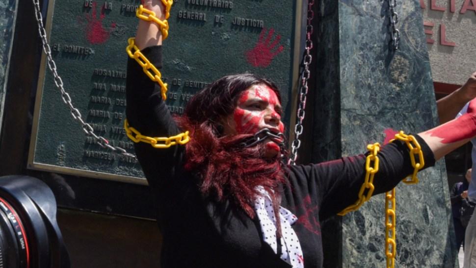 FOTO Un periodista es agredido cada 17 horas en México, según Artículo 19 (Crisanta Espinosa/Cuartoscuro)