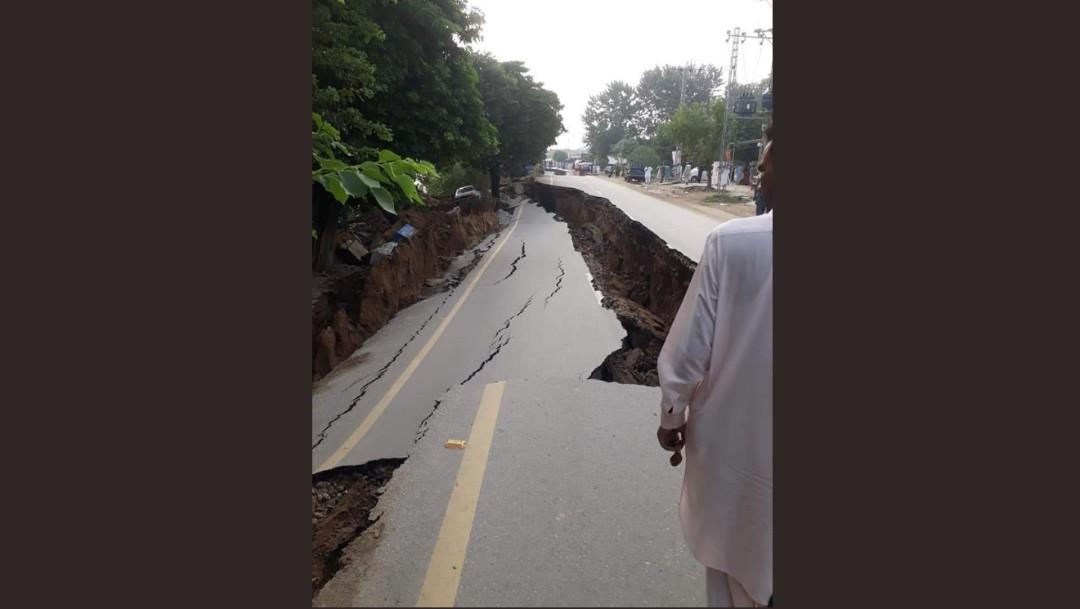 Foto: Daños Pakistán