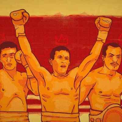 Julio César Chávez y Saúl