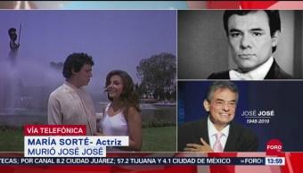 FOTO: Cantante José José se queda con nosotros con sus canciones: María Sorté, 28 septiembre 2019