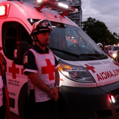 Cruz Roja Mexicana realiza ceremonia por víctimas de sismos de 1985 y 2017