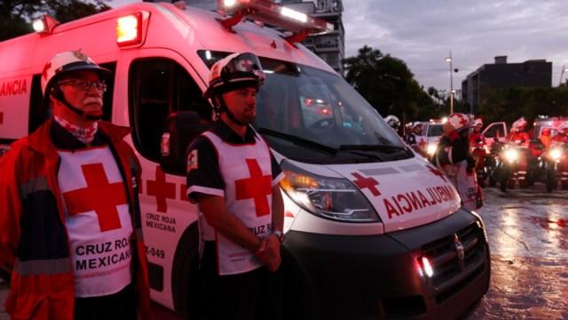 Foto: Las ambulancias dieron 3 vueltas al hospital, 19 de septiembre de 2019, (Cuartoscuro)