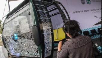 Foto El Cablebús reducirá el tiempo de traslado a la mitad, 12 de septiembre de 2019 (Cuartoscuro)