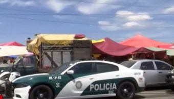 Foto Policías acordonaron el lugar, 15 de septiembre de 2019 (FOROtv)