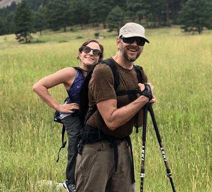 Foto:Melanie Knecht y Trevor Hahn.Melanie Knecht y Trevor Hahn. 18 septimbre 2019