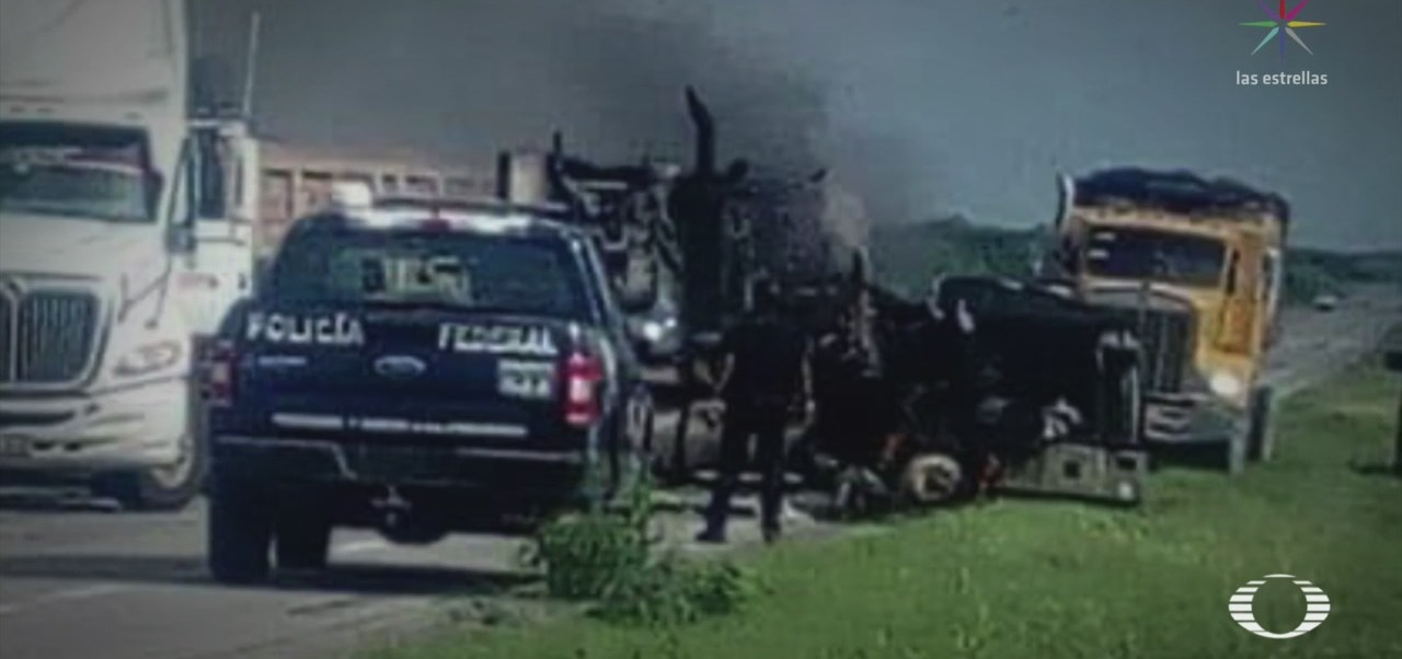 Foto: Carreteras Tamaulipas Campos Batallas Frecuentes 12 Septiembre 2019