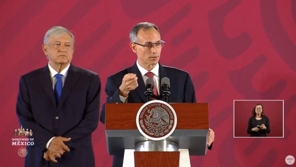 Foto: El subsecretario de Prevención y Promoción de la Salud, Hugo López-Gatell Ramírez, habla sobre los casos de dengue en México, 5 septiembre 2019