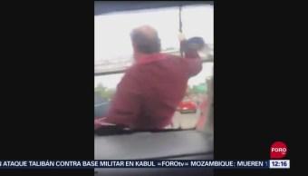 CDMX busca a hombre que intentó agredir a conductora