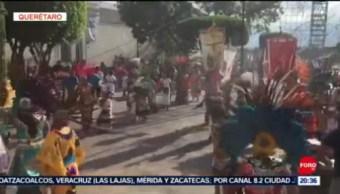 FOTO: Celebran en Querétaro a la Santa Cruz, 14 septiembre 2019