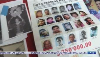 Cien desaparecidos al mes en Michoacán