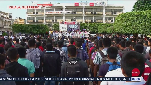 FOTO: Cientos de personas exigen justicia en caso Ayotzinapa, 28 septiembre 2019