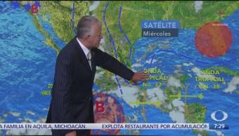 Clima Al Aire: Lluvias intensas para Oaxaca, Chiapas y Veracruz