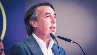 Foto: El señor Emilio Azcárraga Jean, Presidente Ejecutivo del Consejo de Administración de Grupo Televisa, el 27 de septiembre de 2019 (Twitter @ClubAmerica)