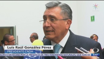 CNDH sobre caso Ayotzinapa
