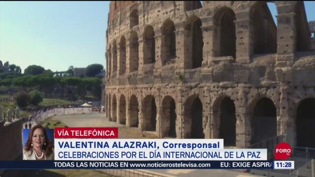 Foto: Coliseo Romano Será Sede Celebraciones Día Internacional Paz