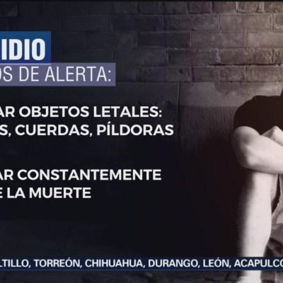 ¿Cómo prevenir el suicidio en México?