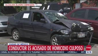FOTO: Conductor Acusado Homicidio Culposo