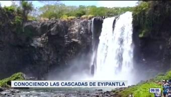 Conociendo las cascadas de Eyipantla