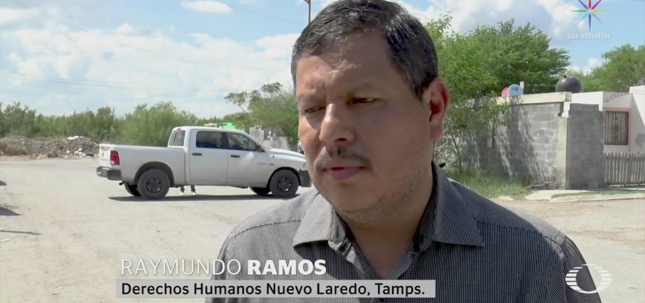 FOTO: Continúan inspecciones en Nuevo Laredo tras presunta ejecución extrajudicial, 13 SEPTIEMBRE 2019
