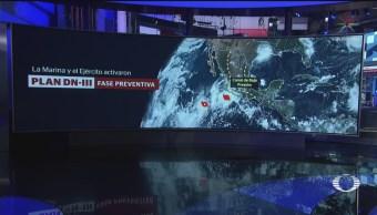 Foto: Continúan Lluvias Debido Fenómenos Meteorológicos 18 Septiembre 2019
