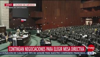 FOTO: Continúan Negociaciones Para Elegir Mesa Directiva Diputados