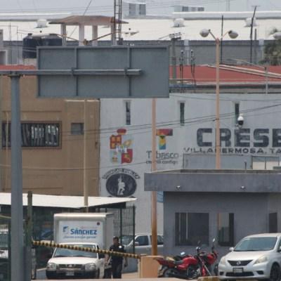 Motín en penal de Villahermosa deja dos muertos y cinco heridos