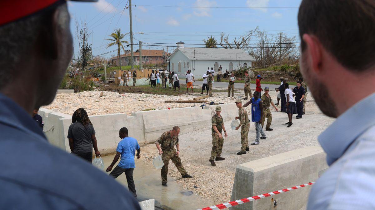 Ayuda humanitaria tras paso de Dorian en Bahamas