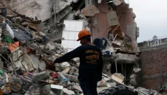 Foto: Daños por sismo en Ciudad de México, 17 de octubre de 2017