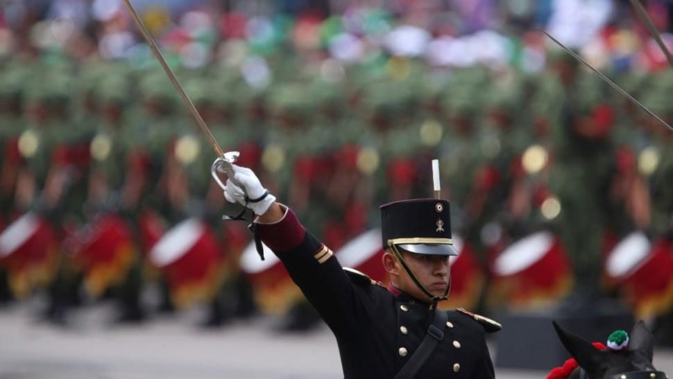 Foto: Desfile de Independencia, septiembre 2016