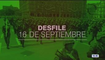 FOTO: Desfile militar 2019 por 209 aniversario de la Independencia de México (Parte 1), 16 septiembre 2019